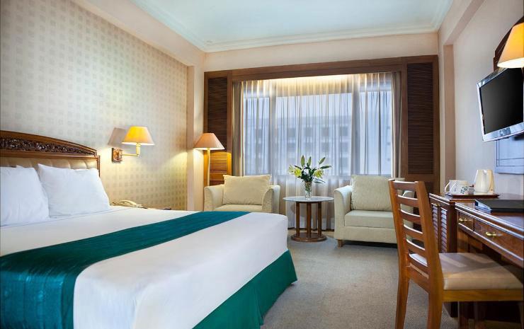 Kamar Hotel Grand Quality. Sumber: Traveloka.com