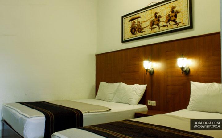 Suasana Kamar Hotel Poncowinatan