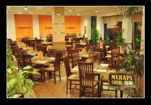 Merapi Coffe Shop. Sumber: booking.com