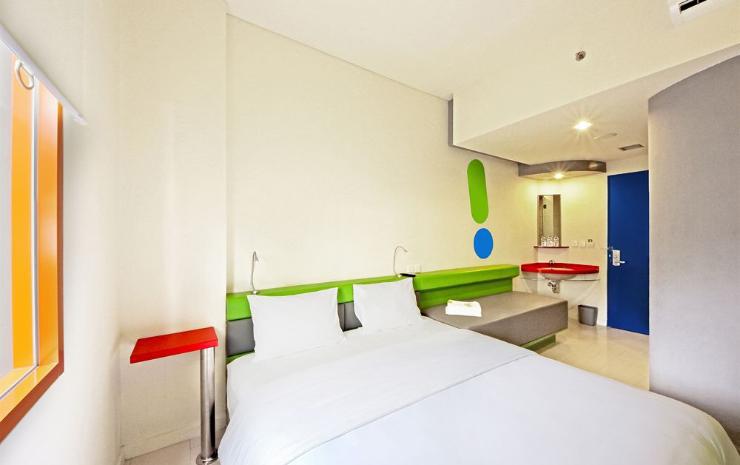 Kamar Hotel Pop!. Sumber: booking.com