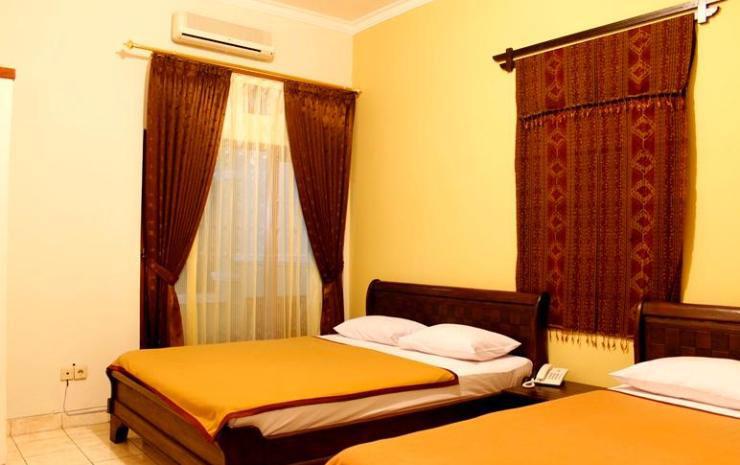 Kamar Hotel Wisma Aji. Sumber: traveloka.com