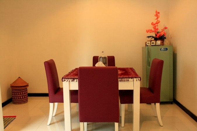 Ruang Makan Homestay Rumah Anaku Jogja