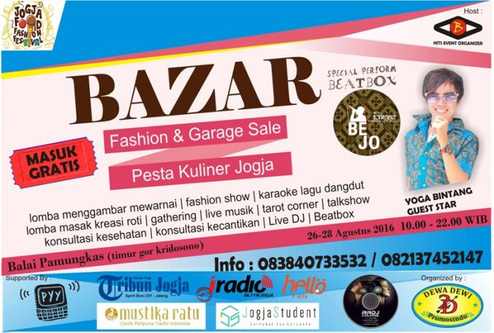 jogja food fashion festival