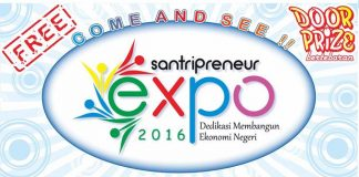 Santripreneur Expo 2016 'Dedikasi Membangun Ekonomi Negeri'