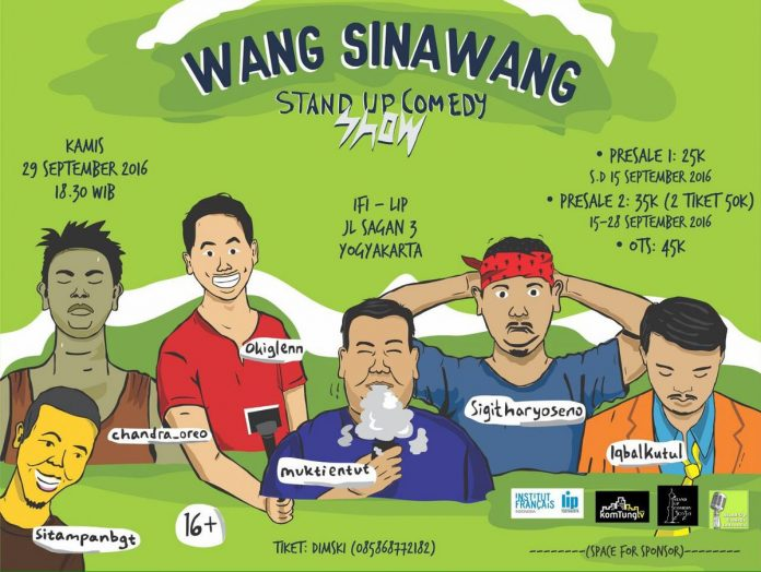 Wang Sinawang Stand Up Comedy Show
