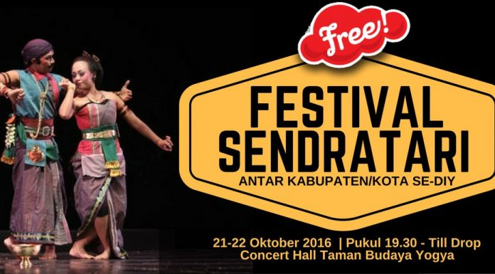 Festival Sendratari Antar Kabupaten/Kota Se-DIY