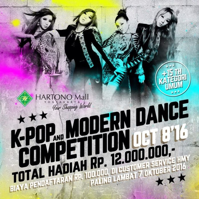 K-Pop And Modern Dance Competition