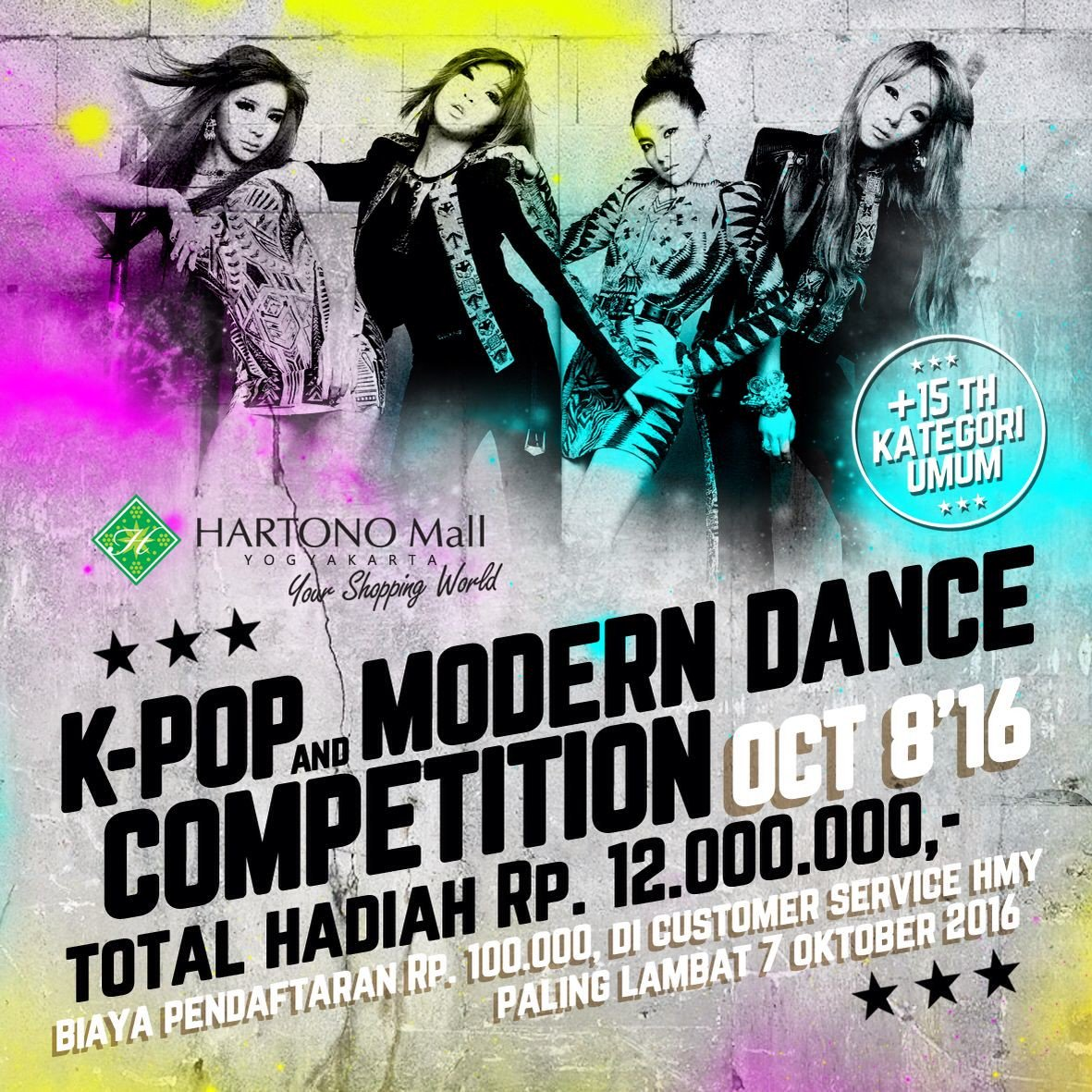 K-Pop And Modern Dance Competition - Kotajogja.com