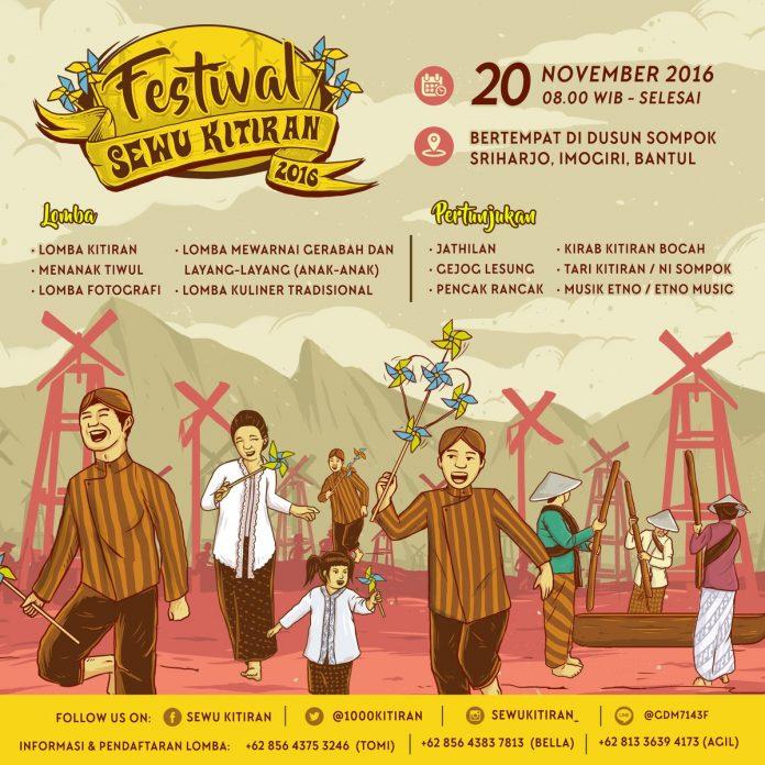 Festival Sewu Kitiran 2016