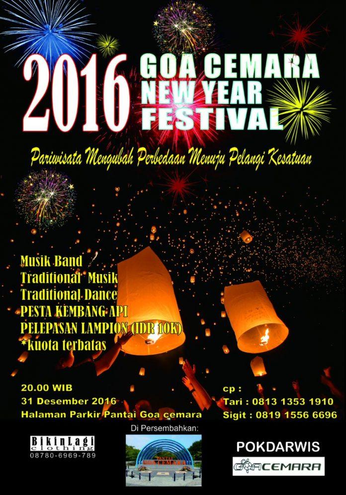 goa cemara new year festival