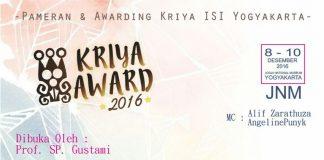 kriya award