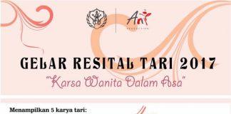 Gelar Resital Tari