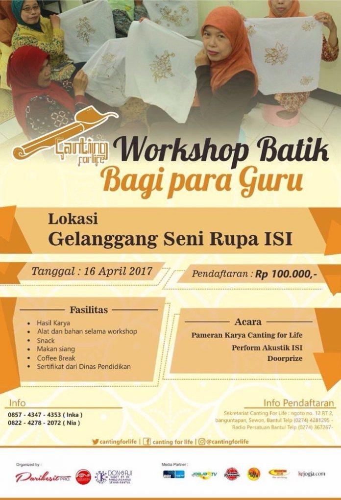 workshop batik bagi para guru