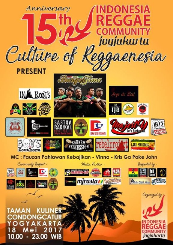 Indonesia reggae community