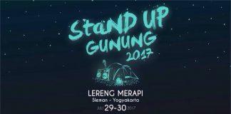 Stand up gunung