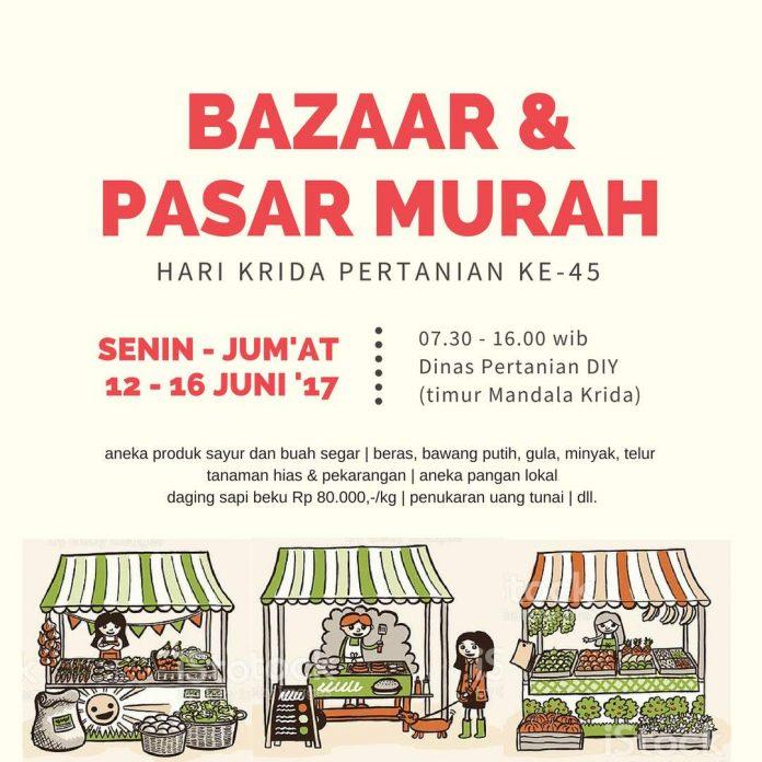 bazaar dan pasar murah