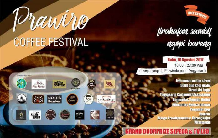 prawiro coffee festival