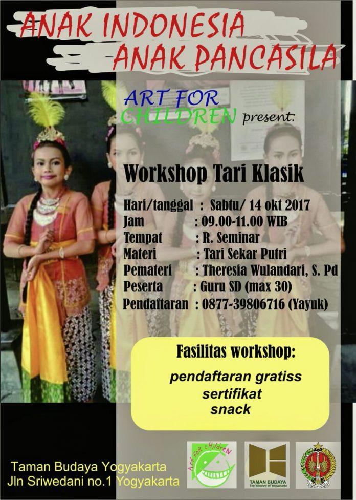 workshop tari klasik