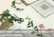 eco print for home decor