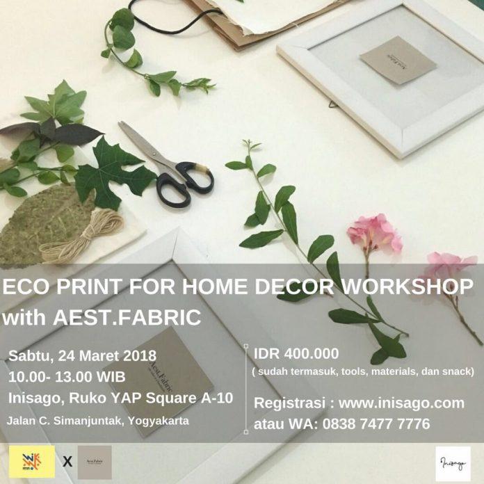eco print for home decor