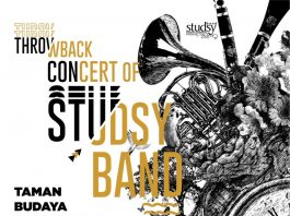 throwback concert of studsy band