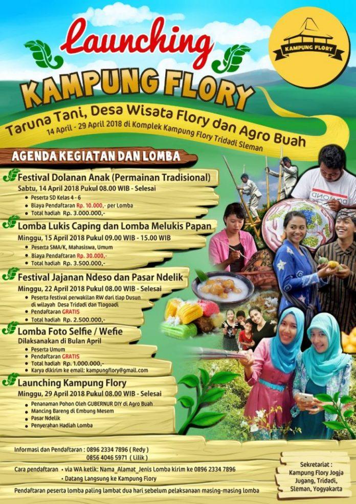 launching kampung flory