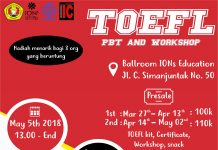 TOEFL PBT and Workshop