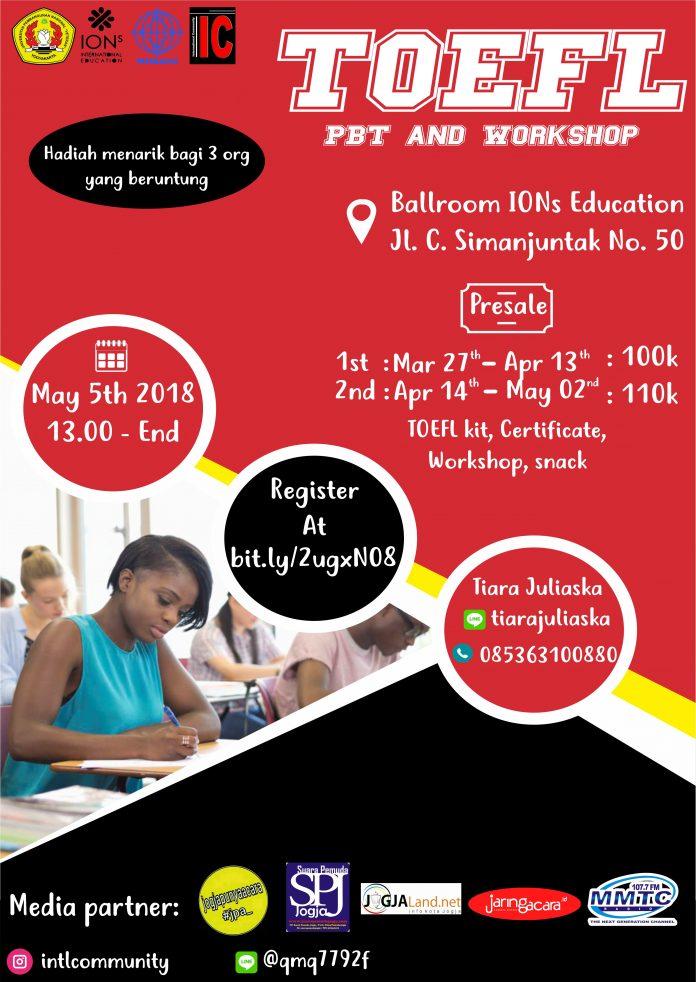 TOEFL PBT and Workshop