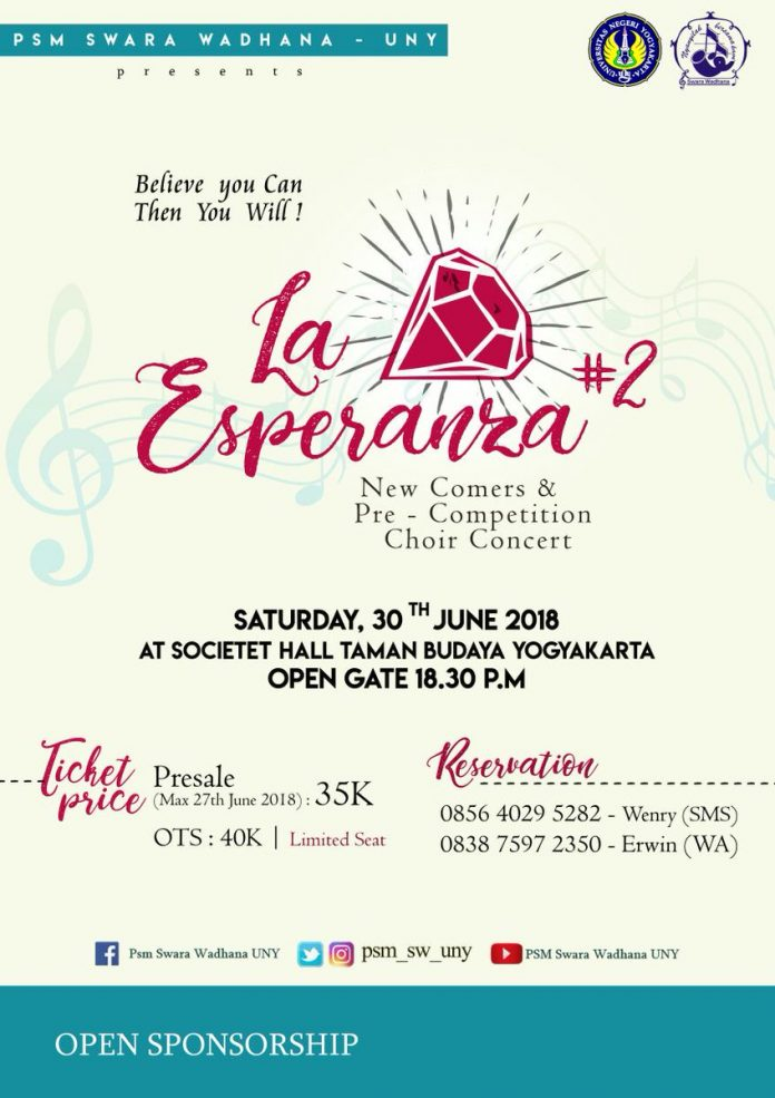 New Comers & Pre-Competition Choir Concert